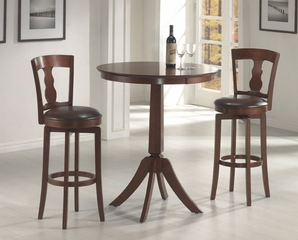 Plainview 3-Piece Bistro Set with Ridgeville Stools - Hillsdale Furniture - 4166831PTS