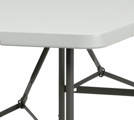 "Plastic Bi-Fold Folding Table 30"" x 60'' - DAD-YCZ-152Z-GG"