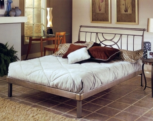 Platform Bed - Mansfield King Size Platform Bed - Hillsdale Furniture