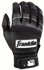 Player Classic II Series Adult Batting Glove Black - Franklin Sports