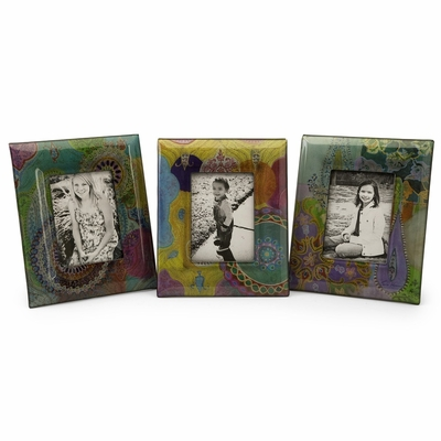 Playful Paisley Photo Frames 5 x 7