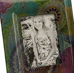 "Playful Paisley Photo Frames 5 x 7"" (Set of 3) - IMAX - 94235-3"