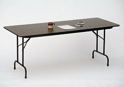 "Plywood and Honeycomb Folding Table 24"" x 72"" - Correll Office Furniture - F2472P"