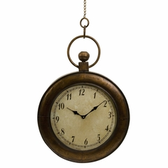 Pocket Watch Wall Clock - IMAX - 87120