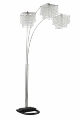 Poly Crystal Arc Floor Lamp - 901484