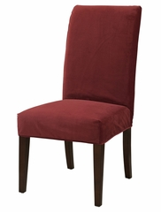 "Poppy Red Velvet ""Slip Over"" (Fits 741-440 Chair) - Powell Furniture - 741-253Z"