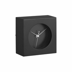 Porthole White Table Clock - Zuo