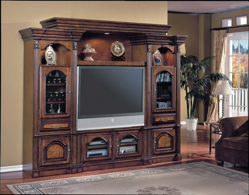 Portofino Flat Panel / Flat Screen Entertainment Center - Parker House - PARK-POR-100-4RX
