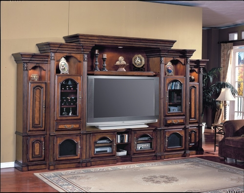 Portofino Flat Panel / Flat Screen Entertainment Center - Parker House - PARK-POR-100-6TX