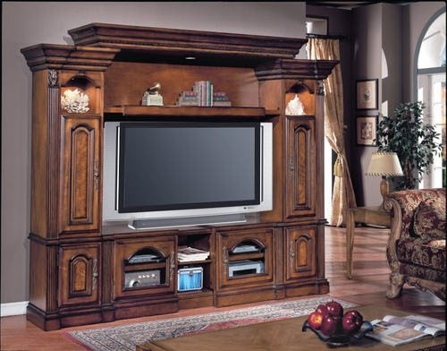 Portofino Flat Panel / Flat Screen Entertainment Center - Parker House - PARK-POR-125-4TX