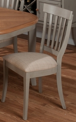 Pottersville Antique Grey Slat Back Side Chair - Set of 2 - 771-814KD