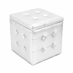 Pouf Storage Square Ottoman - Lumisource