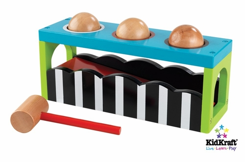 Pound and Roll Bench in Multi-Color - KidKraft Furniture - 63250