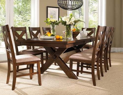 Powell 9 Pc Kraven Dining Set