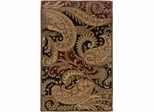 Powell Bombay Hand Tufted Rug Paisley Multi-Color