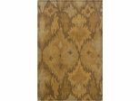 Powell Bombay Rug Goa Beige Ikat 100% New Wool