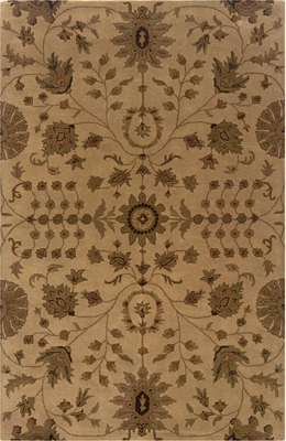 Powell Bombay Traditional Design Rug Bali Sand