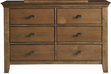 Powell Northbridge Champagne 6 Drawer Dresser