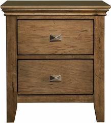 Powell Northbridge Champagne Nightstand