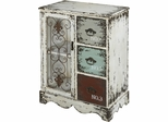 Powell Parcel White 1 Door, 3 Drawer Chest