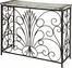 Powell Parcel White Console Table