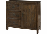 Powell Reclaimed 1 Door, 3 Drawer Chest