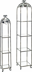 Powell Reflections Etagere - Set of 2