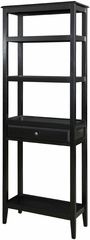 Powell Sedona Antique Black Tall Bookshelf