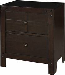 Powell Summerfield 2 Drawer Nightstand