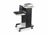 Presentation Cart - Gray/Black - BLT89759