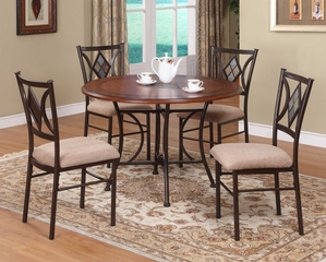 Presley 5-Piece Dining Room Furniture Set - Powell Furniture - 464-DSET