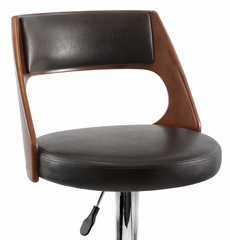 Presta Barstool Cherry Wood - LumiSource - BS-JY-PRS-CH-BN