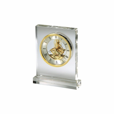 Prestige Glass Tabletop Clock - Howard Miller