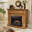 Preston Electric Fireplace in Oak - Dimplex - DFP6787O