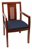 Preston Wood Back Side Chair - 9975