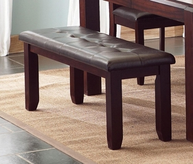 Prewitt Dining Bench with Upholstered Seat - 102943
