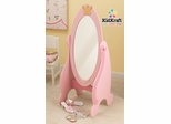 Princess Cheval Mirror in Pink - KidKraft Furniture - 76137