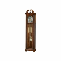 Princeton Grandfather Clock in Hampton Cherry - Howard Miller