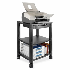 Printer/Fax Mobile Stand - Black - KTKPS540
