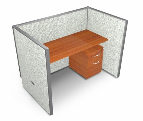 Privacy Cubicle Panel Station, 1X1 Layout, 47