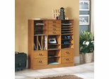 Project Organizer with Craft Storage in Caramel Birch - Sauder Furniture - 400763