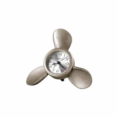 Propeller Quartz Alarm Clock II - Howard Miller
