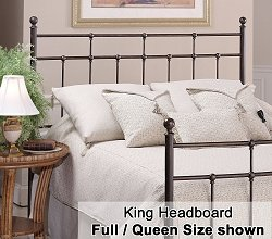 Providence Eastern King Size Metal Headboard - 380-670