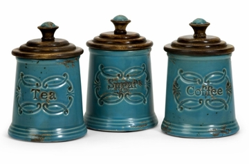 Provincial Canisters (Set of 3) - IMAX - 5506-3