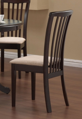 Pub Chair (Set of 2) in Cappuccino - Coaster
