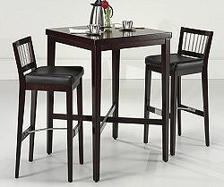 Pub Table and Stools Set in Cherry