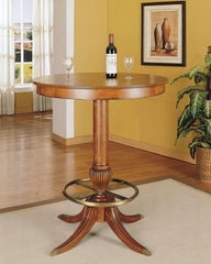 "Pub Table - Jamestown Landing ""Deep Cherry"" - Powell Furniture - 987-404"