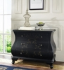 Pulaski Bombe Chest Center Stage Black - Pulaski Furniture - 704204
