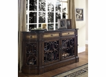 Pulaski Credenza Hall Cabinet Carmel Finish - Pulaski Furniture - 704255
