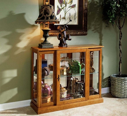 Pulaski Golden Oak Console Cabinet - Pulaski Furniture - 6715